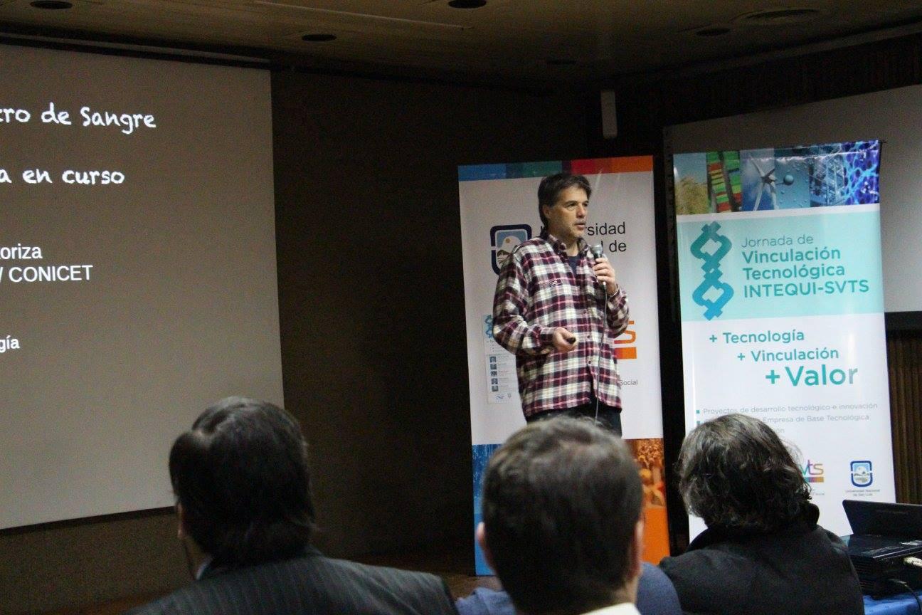 El INTEQUI y la UNSL juntos en una jornada de Vinculación Tecnológica