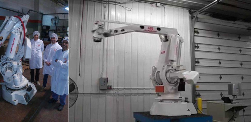 Suman un nuevo robot antropomorfo industrial al Laboratorio de Mecatrónica de la UNSL
