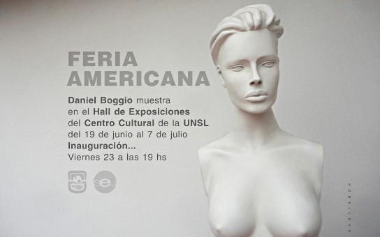 Boggio expone sus obras en Feria Americana