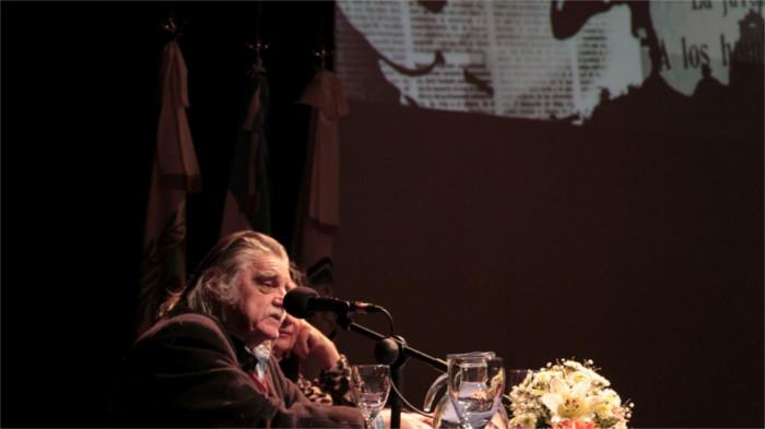 El ex director de la Biblioteca Nacional en la apertura de las III Jornadas de Historia y Memoria de la UNSL