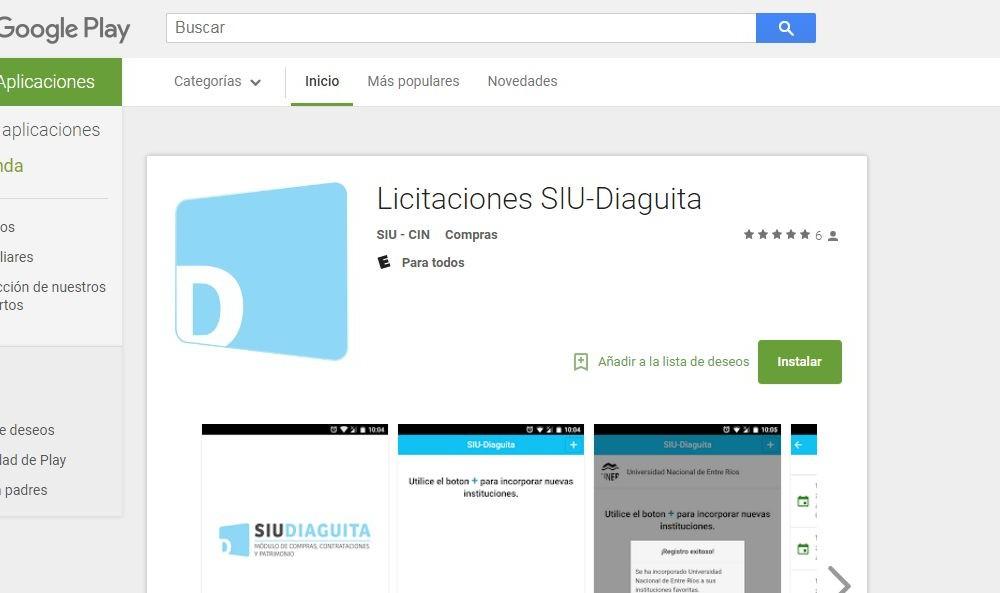 """Incorporan una """"App"""" a la funcionalidad del sistema de compras de la UNSL"""