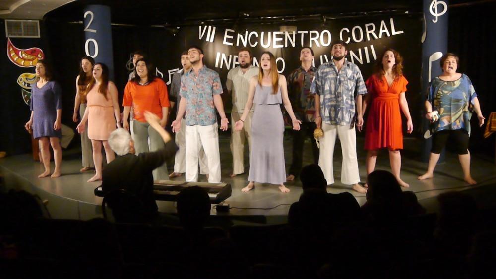 El Coro deslumbró con su actuación en Carlos Paz
