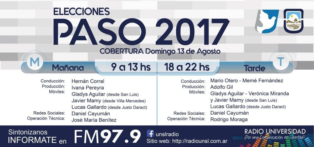 Radio Universidad cubrirá las PASO