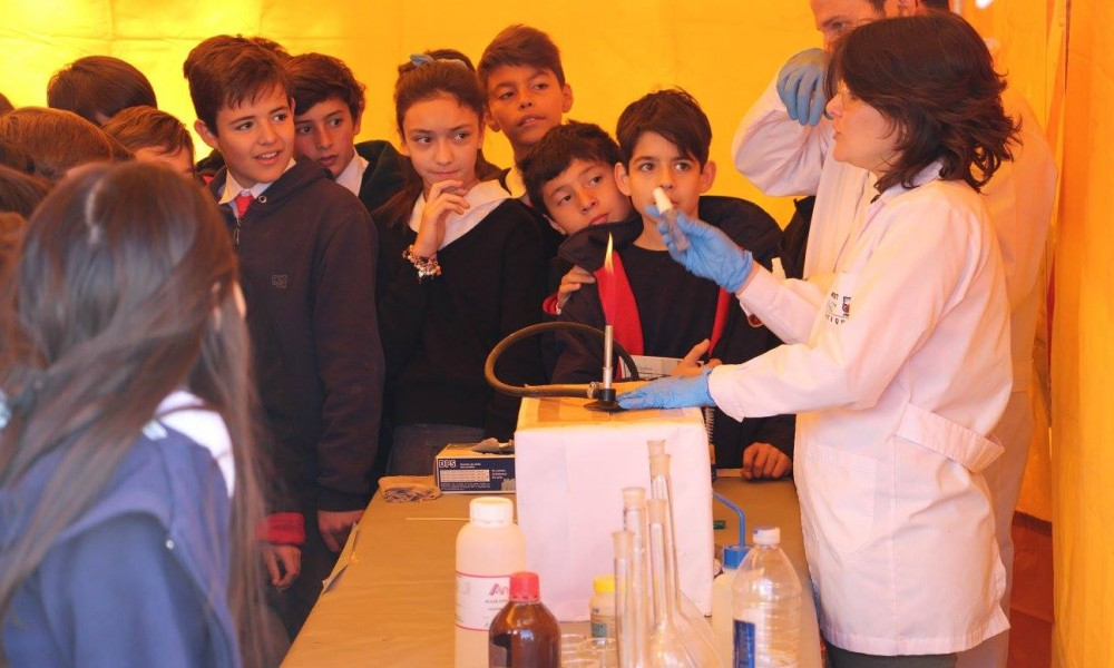Multitudinaria semana de la ciencia y la tecnología en el INTEQUI