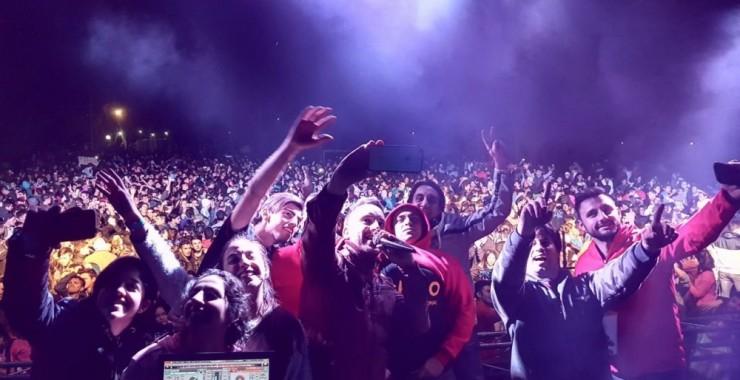 Alrededor de 6.000 estudiantes festejaron su día en La Florida