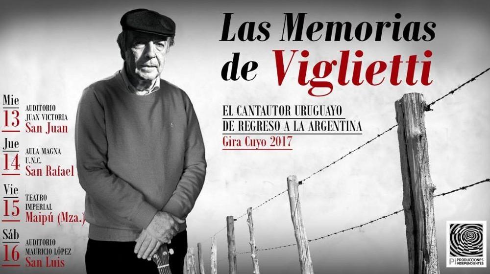Las Memorias de Viglietti en San Luis
