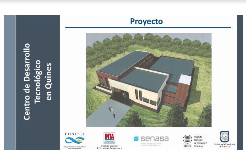 Avanza el proyecto del Centro de Desarrollo Tecnológico en Quines