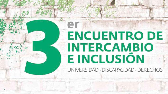 """Nuevo encuentro """"Universidad-Discapacidad-Derechos"""""""