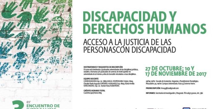 Capacitan en Discapacidad y Derechos Humanos