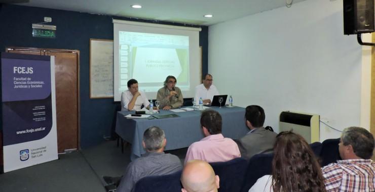 Disertaciones y debate en la primera jornada provincial de Derecho Público