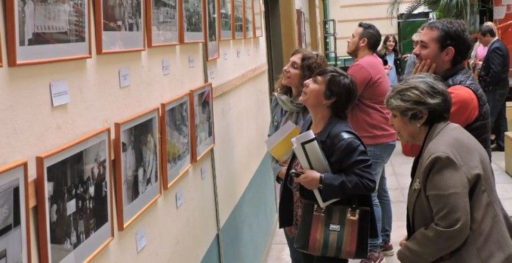 "Inauguraron la muestra ""Testimonios Reformistas en la Universidad Nacional de San Luis"""