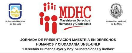 Presentarán la Maestría en Derechos Humanos y Ciudadanía