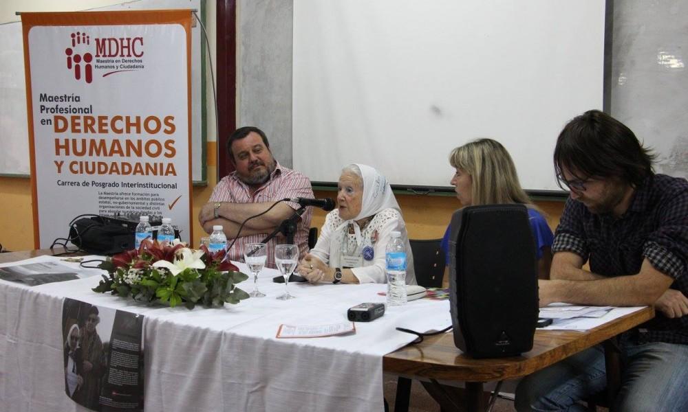 Se presentó la Maestría en Derechos Humanos y Ciudadanía