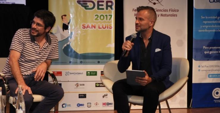 Diego Pasjalidis brindó sus herramientas innovadoras a los emprendedores en la UNSL