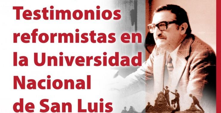 "Continúa la muestra ""Testimonios reformistas en la UNSL"""
