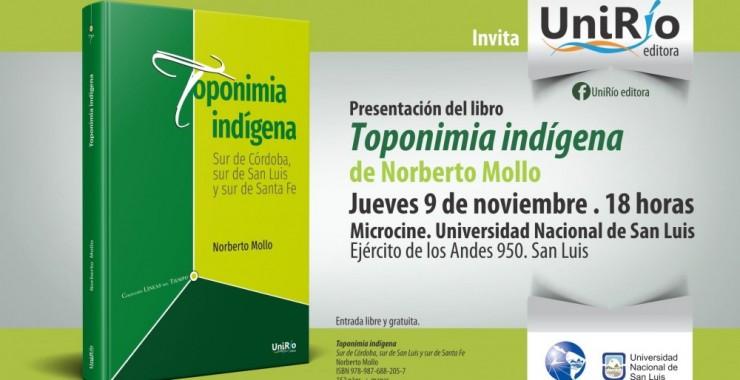Presentarán un libro sobre Toponimia Indígena