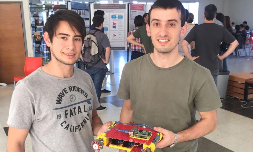 Desarrollaron un robot premiado en las Jornadas Argentinas de Robótica