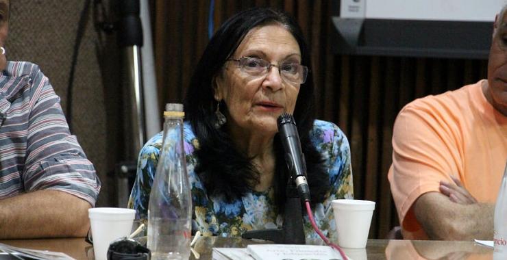 """Violeta Guyot: """"La filosofía sin pensamiento crítico no tiene sentido"""""""