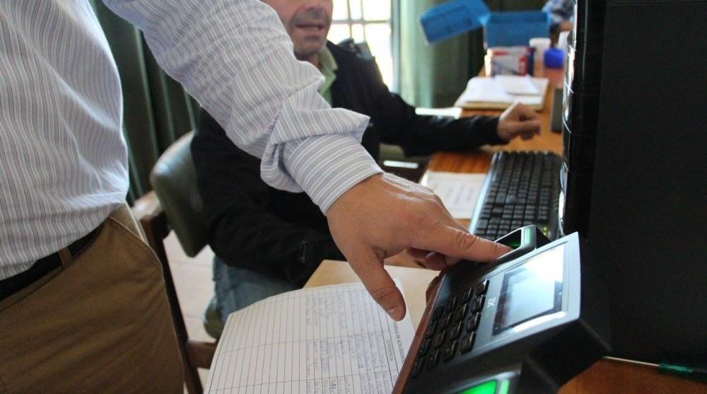 Registro de huella dactilar