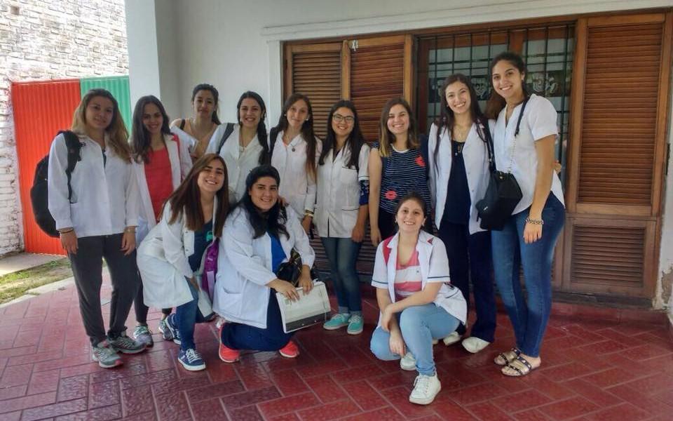 Estudiantes de nutrición realizaron actividades comunitarias