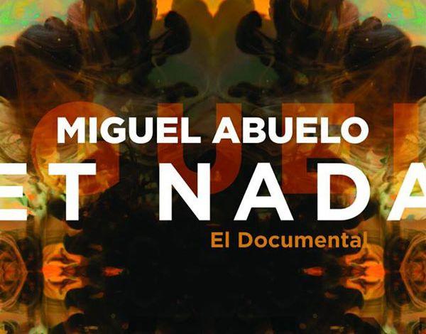 Proyección de la película Miguel Abuelo et Nada