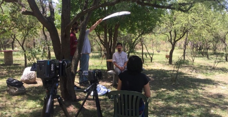 Rodaje documental: Parques y reservas naturales
