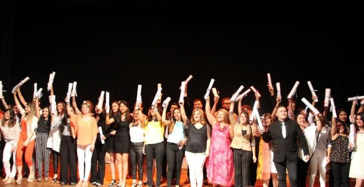 La Facultad de Humanas y el IPAU entregaron sus diplomas