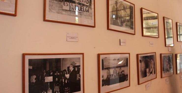 Testimonios fotográficos reformistas en el Hall Cultural de la Universidad