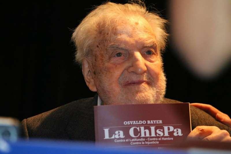 """Presentarán el libro """"La Chispa"""" de Osvaldo Bayer"""