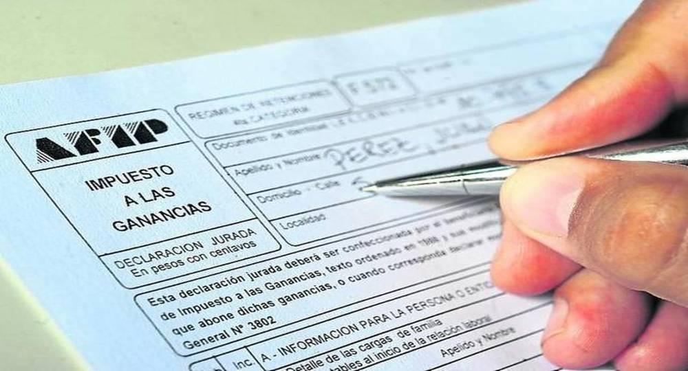 Últimos días para completar el formulario web de impuesto a las ganancias