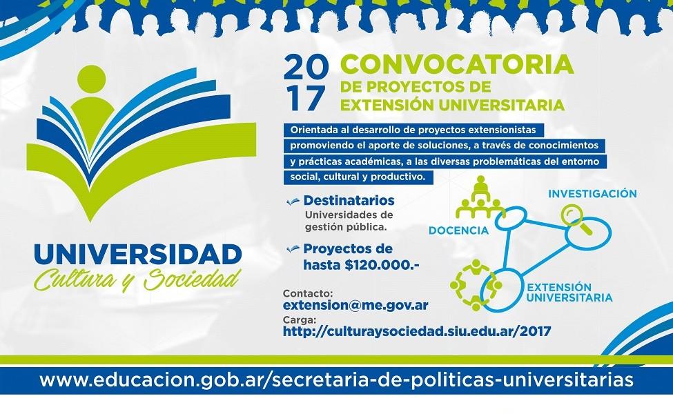 """Tres proyectos locales aprobados en """"Universidad, Cultura y Sociedad"""""""