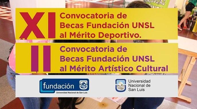 Extienden las inscripciones a las Becas al mérito de Fundación UNSL