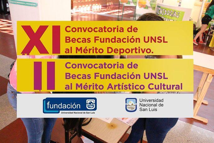 Convocatoria a las Becas al mérito de Fundación UNSL 2018