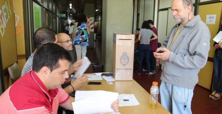 Escrutinio Provisorio elecciones DOSPU 2018