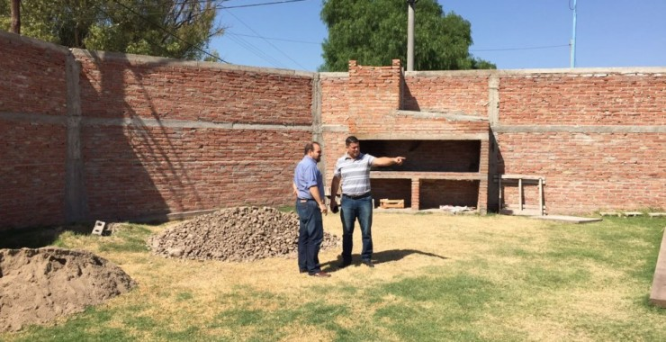 Edificarán un SUM en el Polideportivo de Villa Mercedes