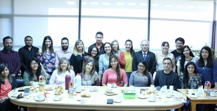 La Universidad recibió a estudiantes de México, Colombia, Perú y Paraguay