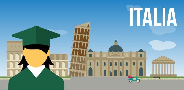 Ofrecen becas para estudiar en Italia