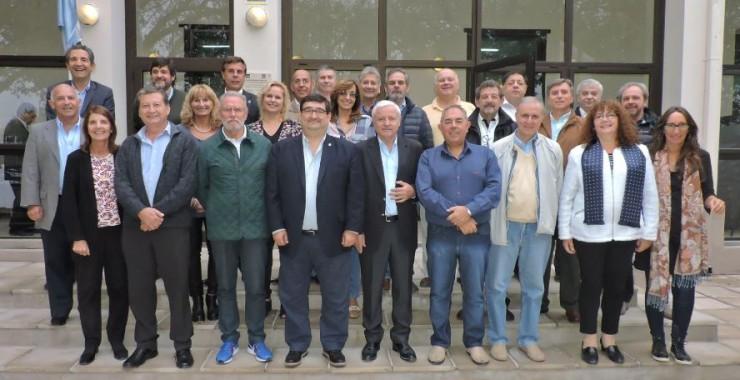 Decanos de Ingeniería del país se reunieron en Villa Mercedes
