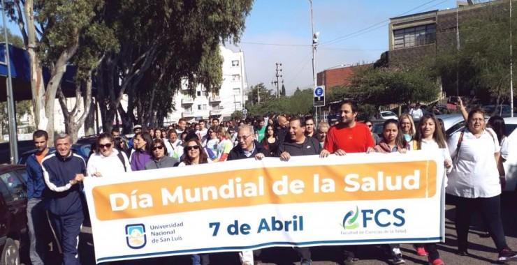 Caminata y acciones preventivas en el Día Mundial de la Salud