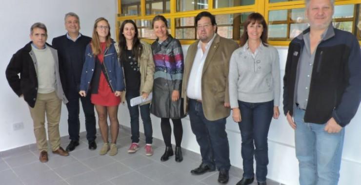 Inauguraron los Laboratorios de Ficología y Dendrocronología