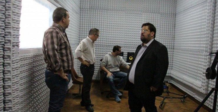 Inaugurarán los estudios de UNSL TV