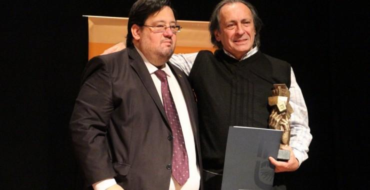Recibió el premio «Polo Godoy Rojo» el actor Marcelo Di Gennaro