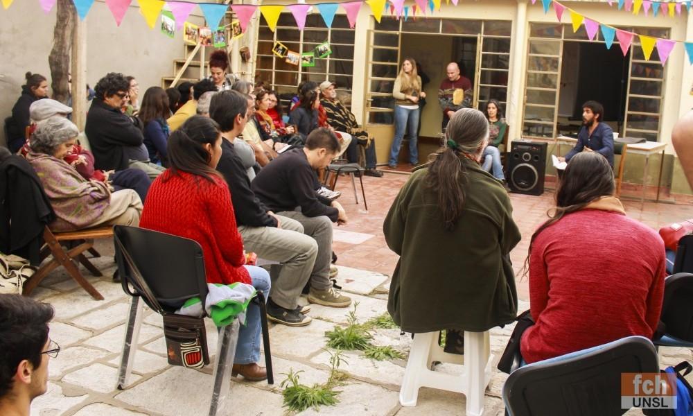 Asamblea en el Centro de Prácticas Pedagógicas y Sociocomunitarias
