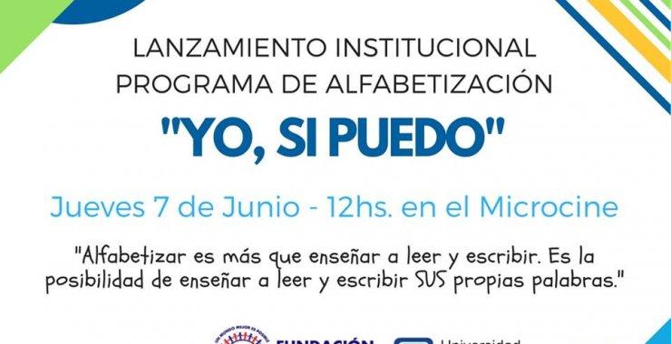 Comienza el programa de alfabetización «Yo, Sí puedo» 2018