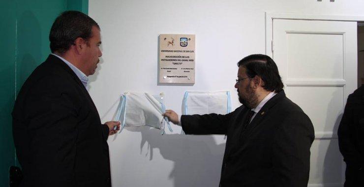 UNSL TV inauguró sus estudios