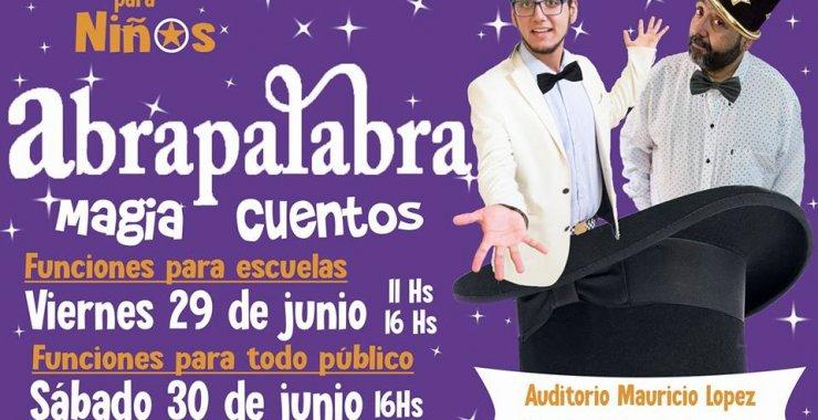 Teatro, magia, imaginación y lectura en Abrapalabra