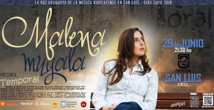 Malena Muyala de Gira por Argentina