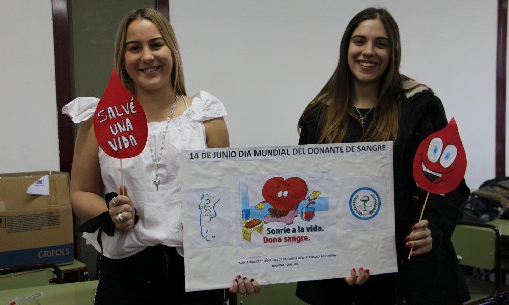 Actividades en el Día Mundial del Donante de Sangre