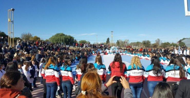 Jura, reafirmación y promesa de cariño a la Bandera