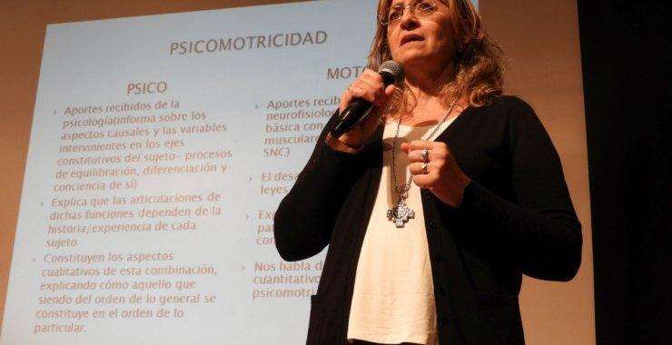 Psicomotricistas viven su primera jornada en San Luis